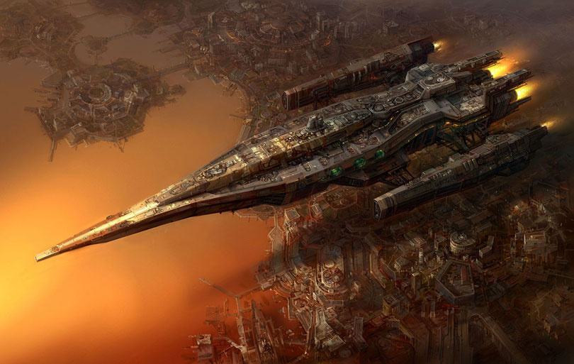 concept ships: Concept ships by Jaecheol Park