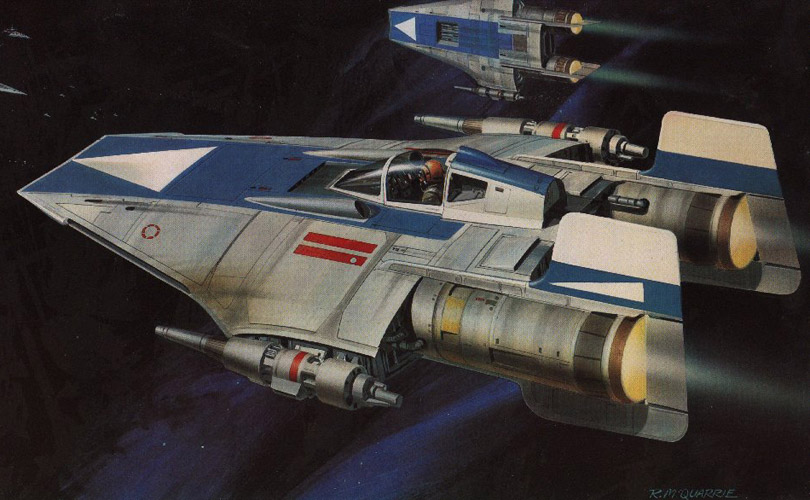 1/24 Scale Ralph McQuarrie Concept X Wing Scratchbuild   Page 4