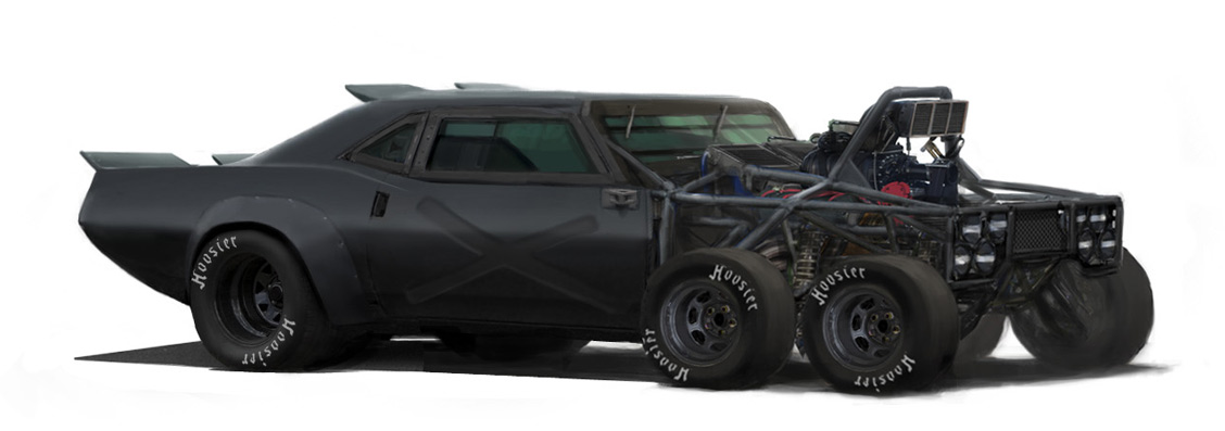 Mad Max Dodge Challenger >> Concept cars and trucks: Concept vehicle by Aaron Beck