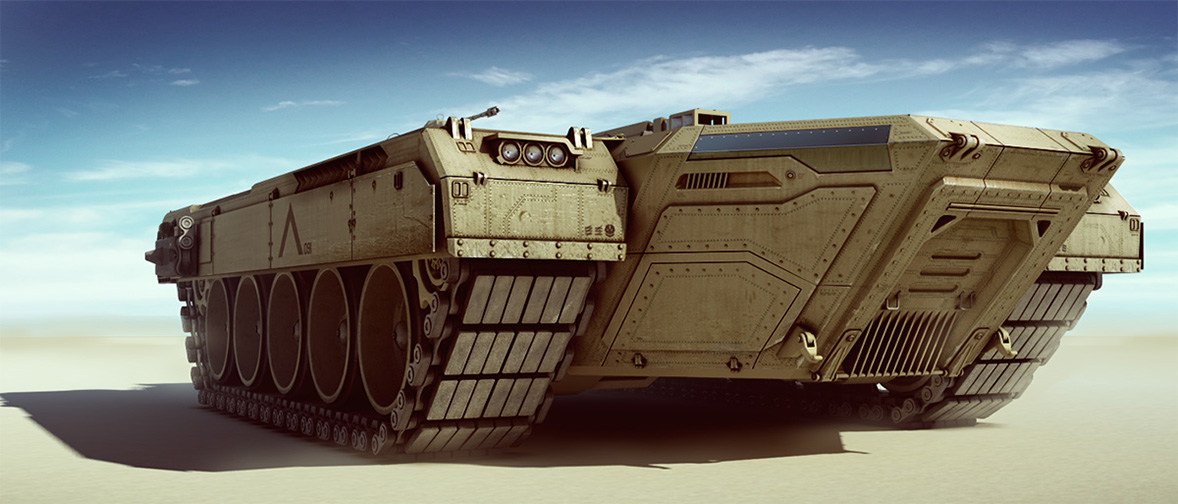 concept tanks: Concept tank carrier by boogotti