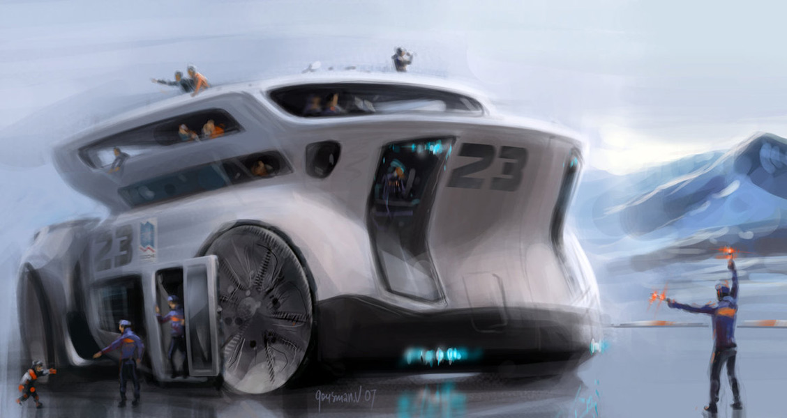 Pictures Of Future Trucks: Concept Cars And Trucks: Concept Vehicle Illustrations By