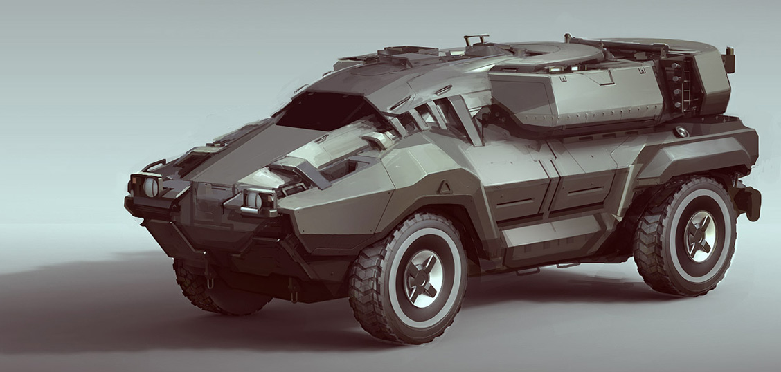 Xtreme Car Military Vehicle Concepts By Sam Brown