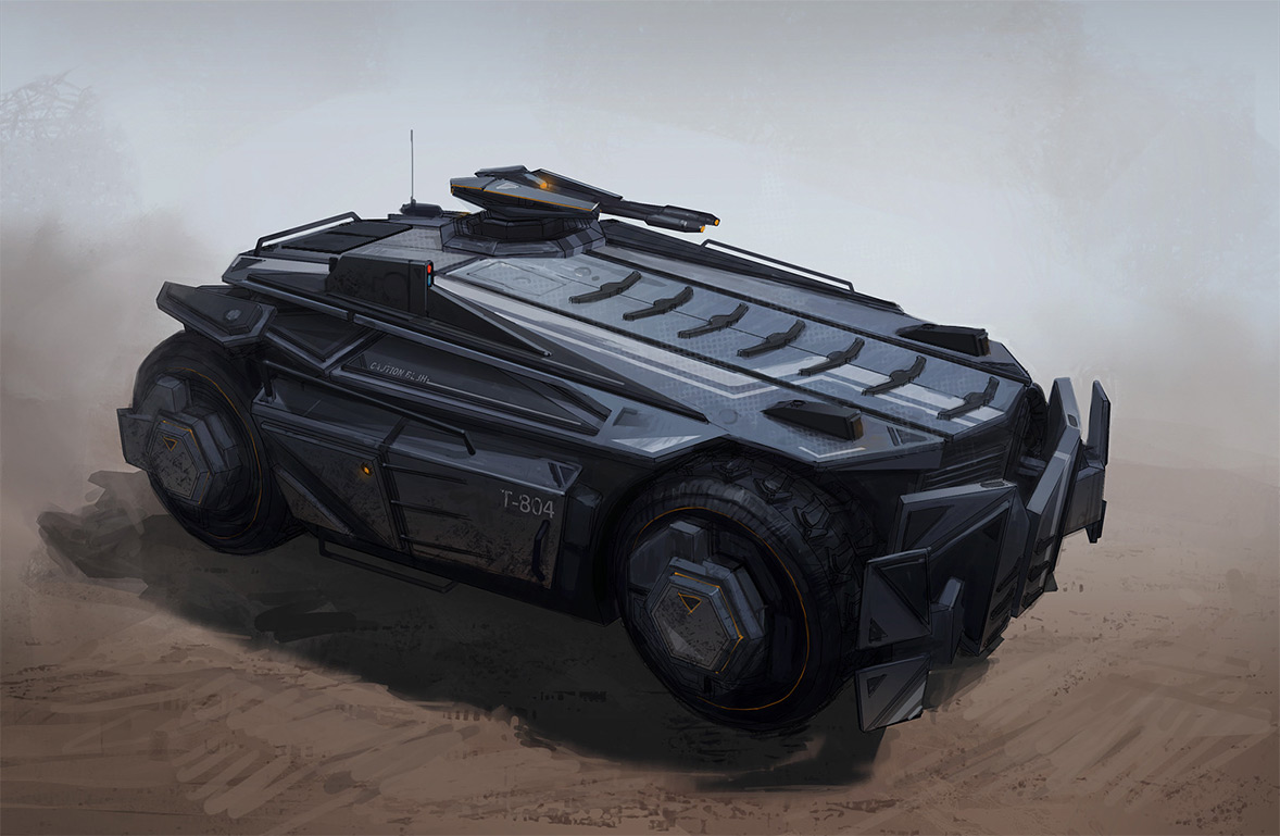 Xtreme Car: Concept Vehicles By Darren Bartley