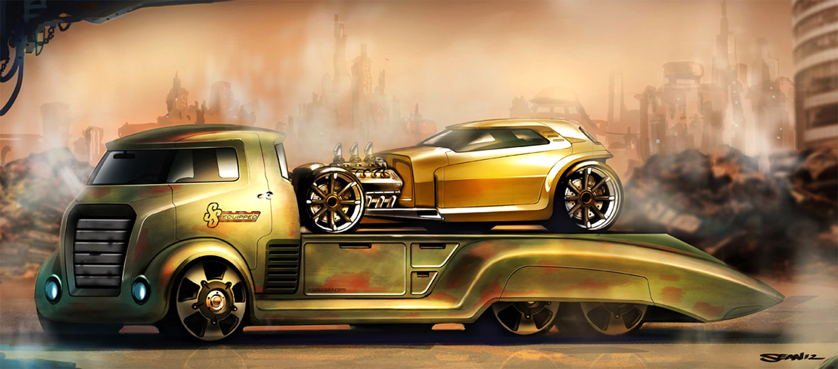Concept cars and trucks: Concept cars and trucks by Sean Smith