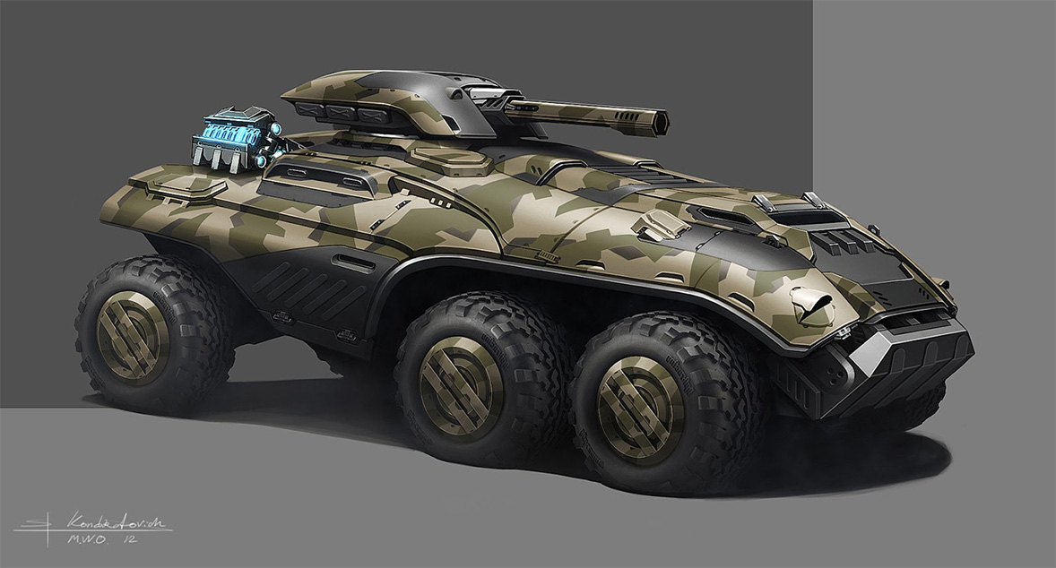 Concept Cars And Trucks: Concept Military Vehicles By