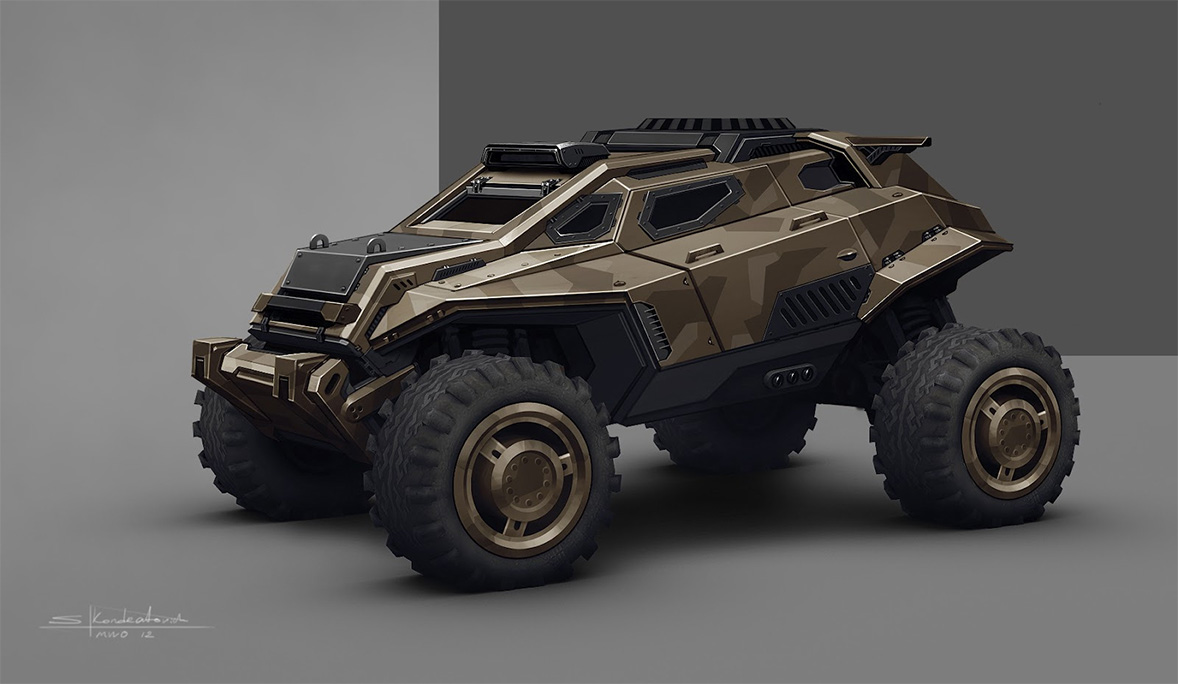 Military vehicle concepts by