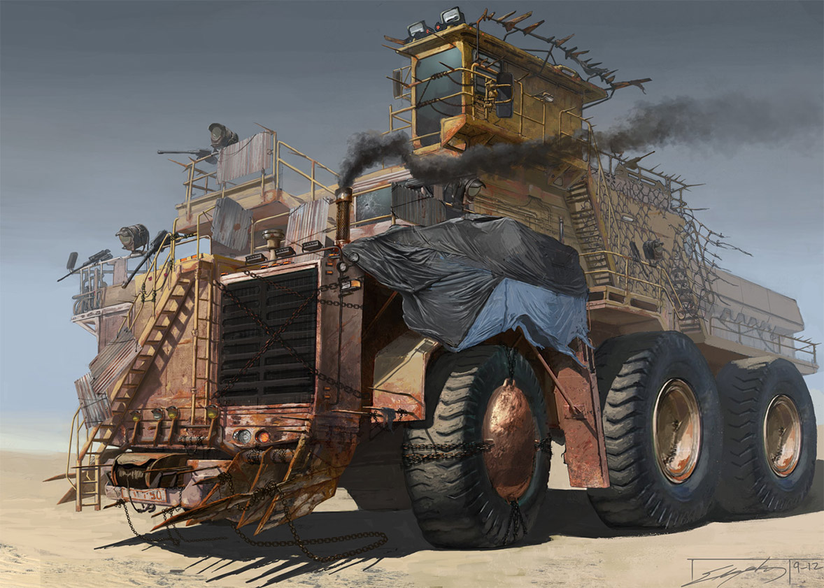 Vehicle Concept, Concept Trucks, Concept Art, Mcneal