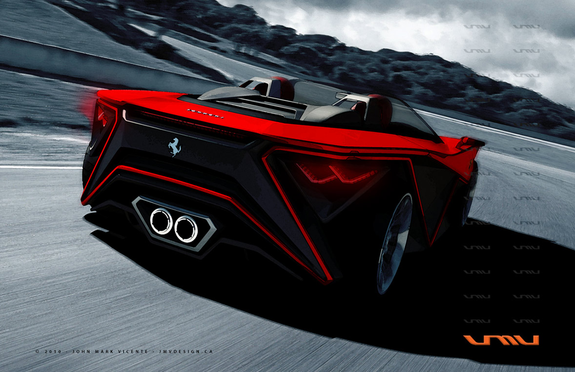 Concept Cars And Trucks: Farrari And Bugatti Concepts By
