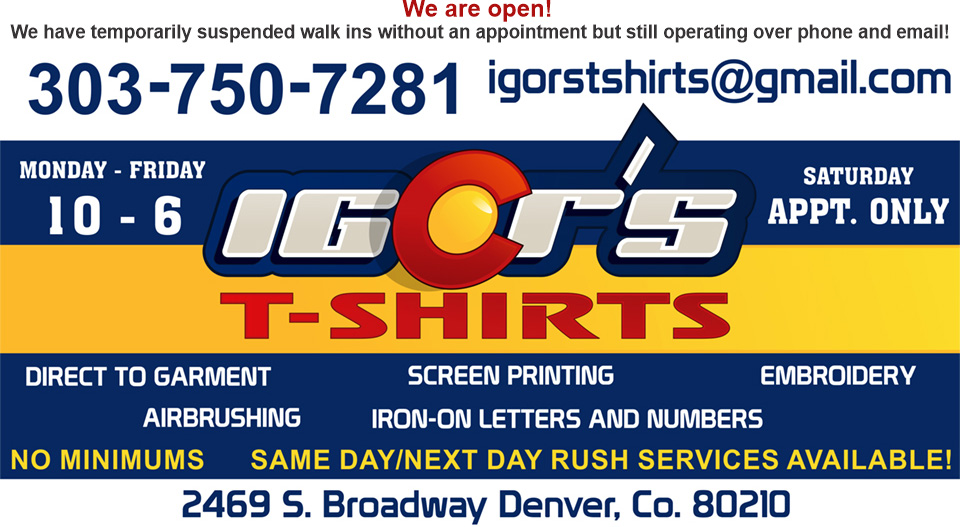 Logo Igor's T-Shirts and More