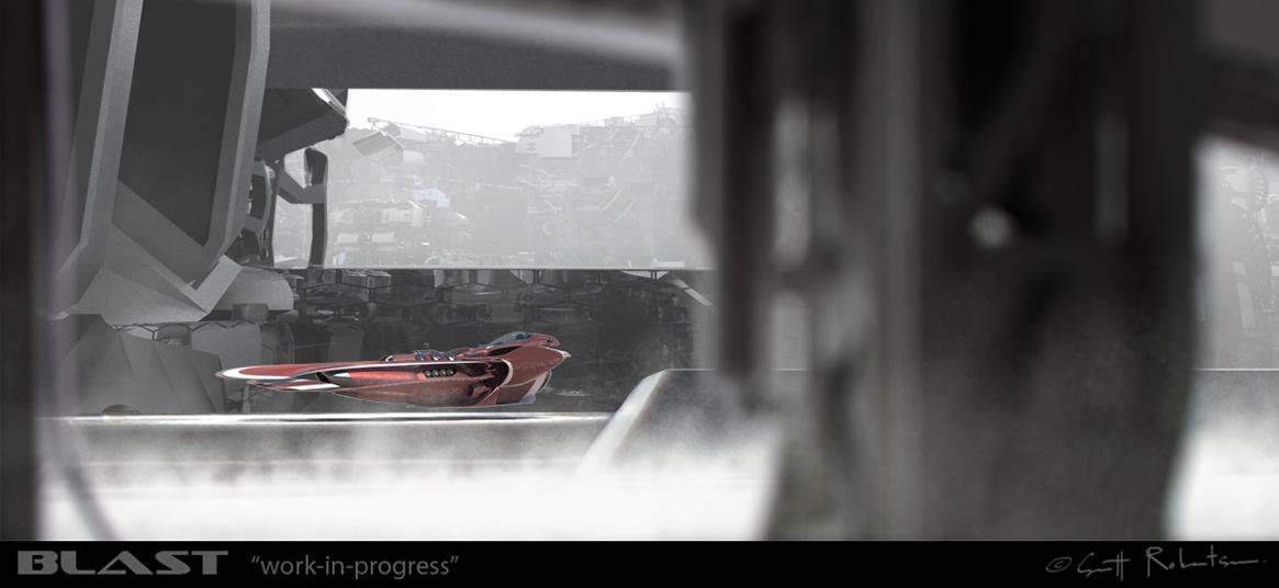 amazoncom blast spaceship sketches and renderings - 680×315